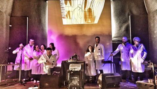Taller Naranja Imaginario, final de concierto
